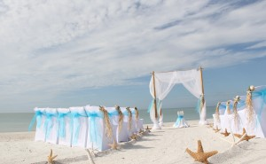 Florida beach wedding perfection