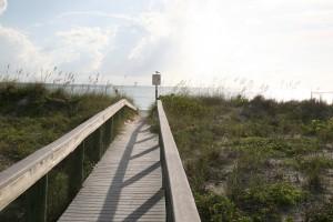 Wheelchair accessible Florida beach wedding