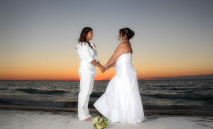 Florida beach commitment ceremonies