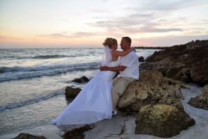Sand Key Park Florida Beach Wedding