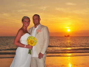 Sand Key Park Florida Beach Wedding