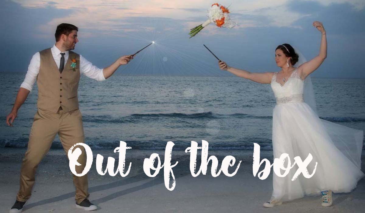 Beach wedding themes