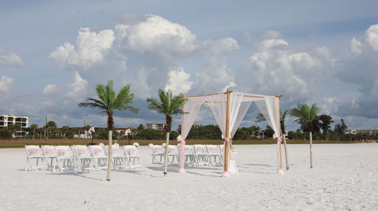 Siesta Key Beach weddings