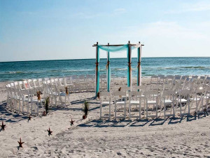Florida beach wedding style