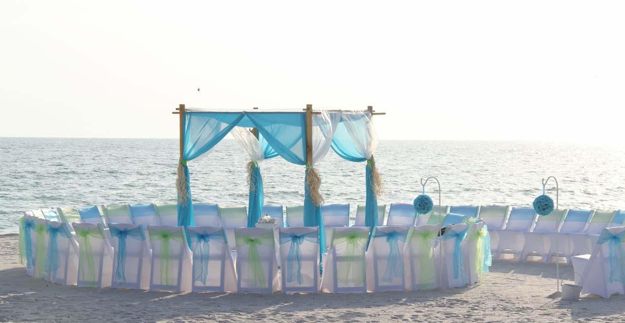 beach wedding chairs