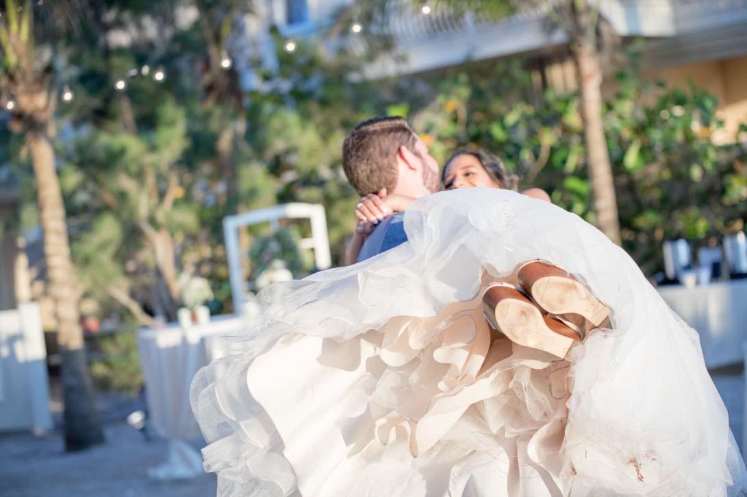 Florida beach house weddings