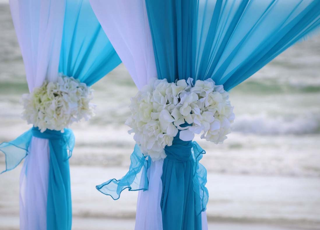 Florida Beach Wedding Arches
