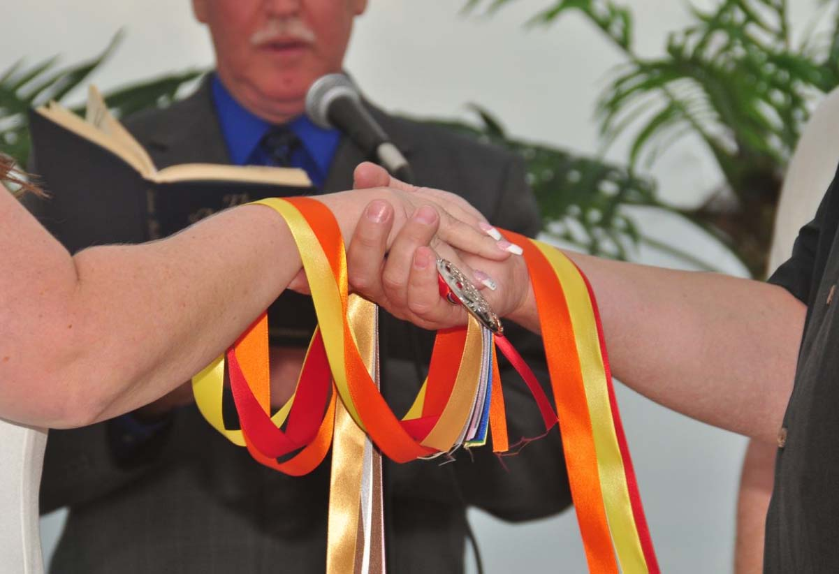 Hand fasting - tie the knot