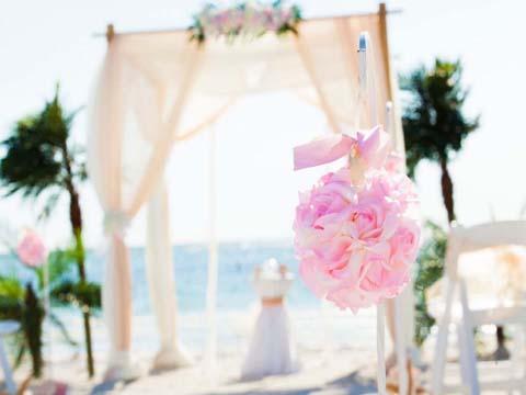 Florida beach wedding themes suncoast weddingssuncoast weddings crystal blush junglespirit Gallery