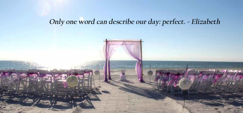 Florida Beach Weddings on a Budget - Suncoast WeddingsSuncoast Weddings