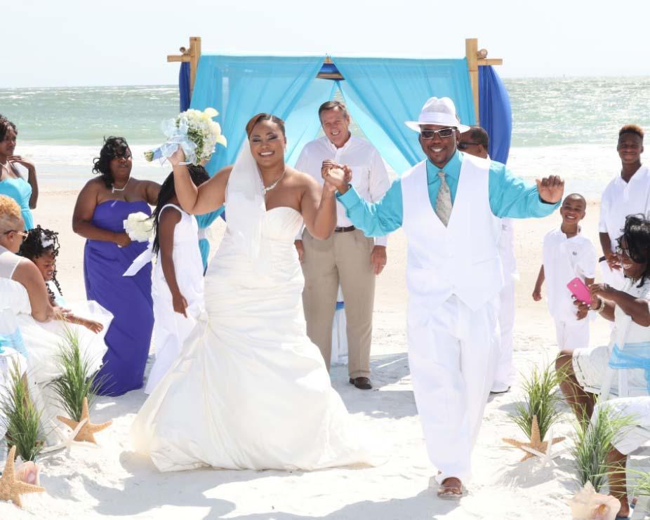 Florida Beach Wedding Details