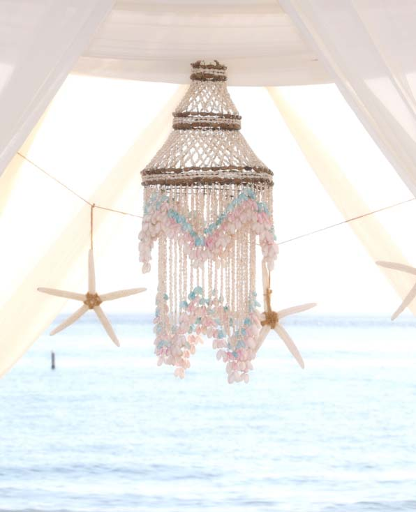 Beach arch decor