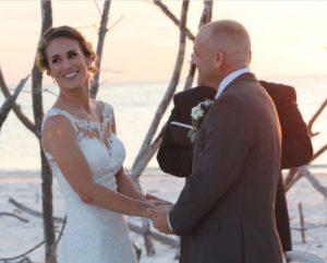 Rustic Florida beach wedding