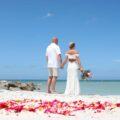 Sunset Beach Wedding in Treasure Island