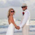 Treasure Island Beach wedding