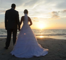 perfect clearwater sunset wedding