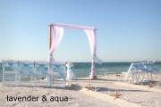 Florida beach wedding themes and colors