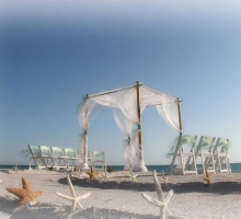 Florida beach wedding themes by Suncoast Weddings