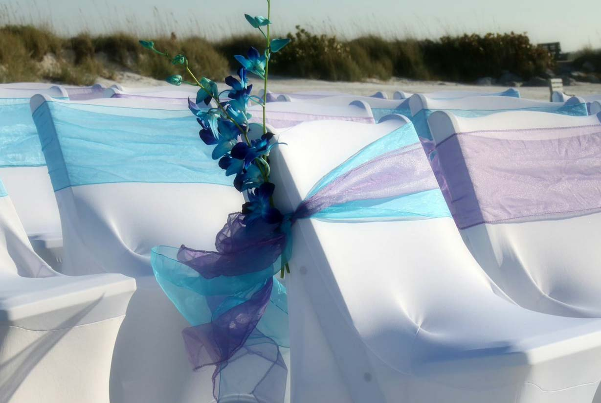 Florida beach wedding themes - orchids by Suncoast WeddingsSuncoast ...