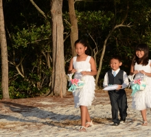 Fort DeSoto Park beach weddings in Florida