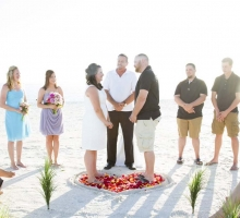 Florida beach wedding packages by Suncoast Weddings