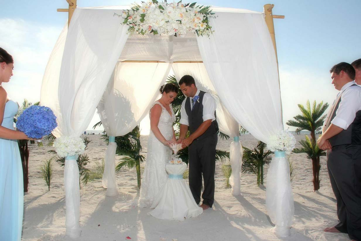 Island Oasis Package - Florida beach WeddingSuncoast Weddings