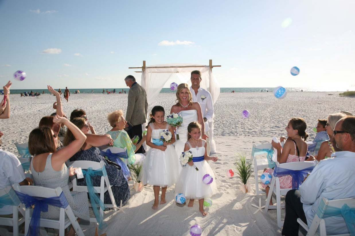 Lido Beach Weddings On Key In Sarasota