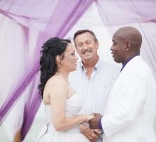 Florida beach wedding vows