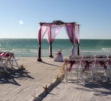Florida beach wedding themes - lilac, purple, plum and lavender - beautiful ceremonies crafted by Suncoast Weddings