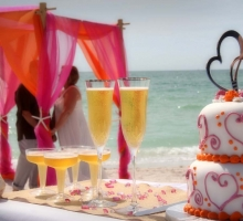 Florida beach wedding packages