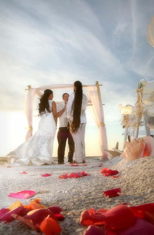 a1w - treasure island beach weddings