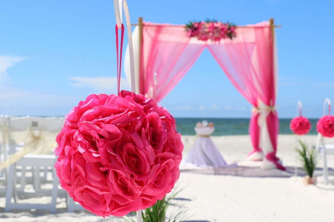 Contemporary Beach Wedding Theme Invitations Embellishment ...