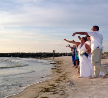 Sand Key Park beach weddings in Florida