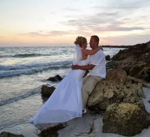 Sand Key Park beach weddings in Florida