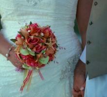 Starfish themed Florida Beach Wedding