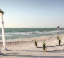 Affordable Florida beach wedding packages - Suncoast Package by Suncoast Weddingst