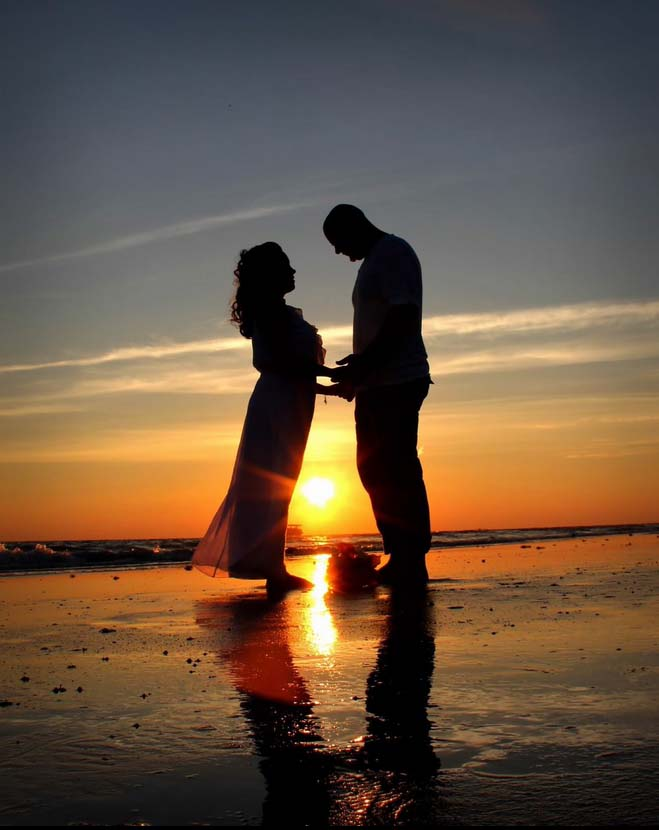 Sunset Beach Wedding