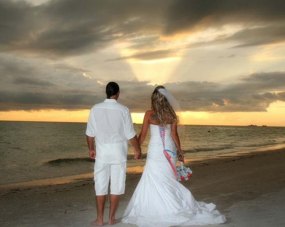 Treasure island beach weddings sunset beach weddings for Beach wedding photos