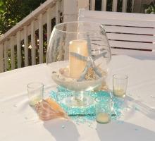 Affordable Florida beach wedding themes - a symphony in blue presented by Suncoast Weddings