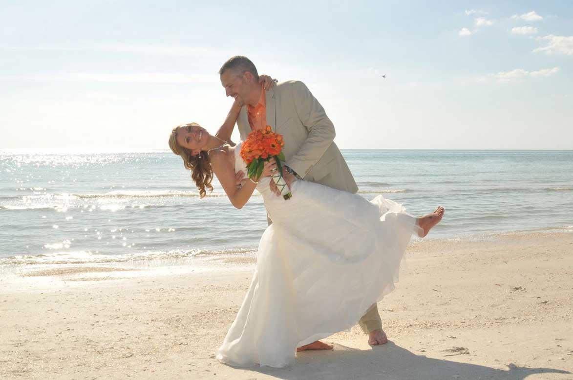 Florida beach wedding themes - Tangerine Dream - Suncoast ...