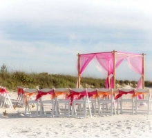 Affordable Florida beach wedding packages - Suncoast Package by Suncoast Weddings