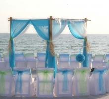 Florida beach wedding style