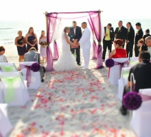Florida beach wedding themes by Suncoast Weddings